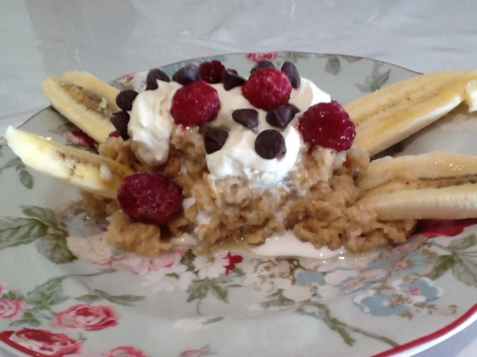 banana split for breakfast  blessedhomestead