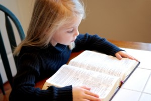 Girl_Reading_Bibles_XSmall